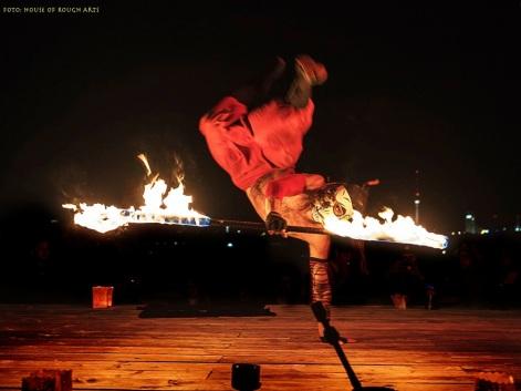 Klunkerkranich - Fuego Rojo